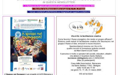 Genera-Azioni Newsletter n.1 gennaio- febbraio 2020